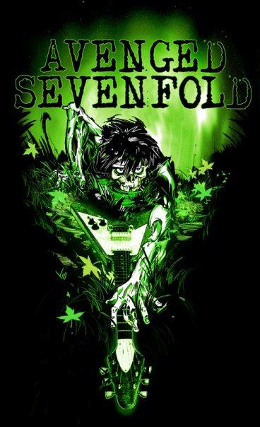 Avenged Sevenfold zombie marsh swamp flying V crawl