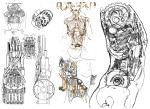 Sketches of automaton guts for Nitrate Films