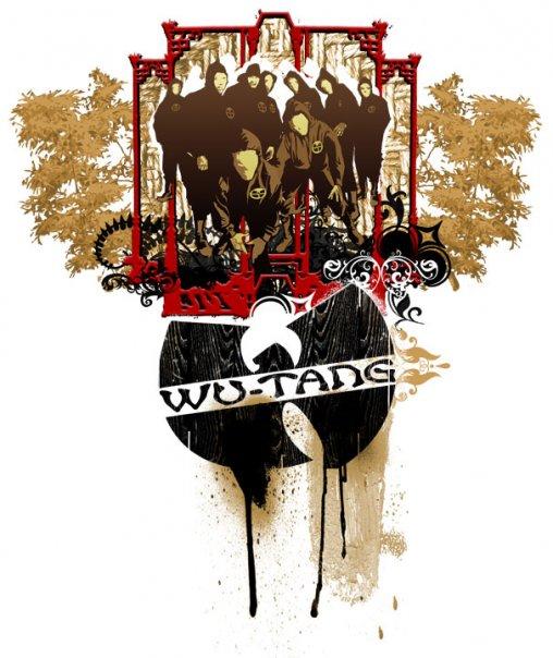 WuTang Clan, Stencil, bamboo, classic
