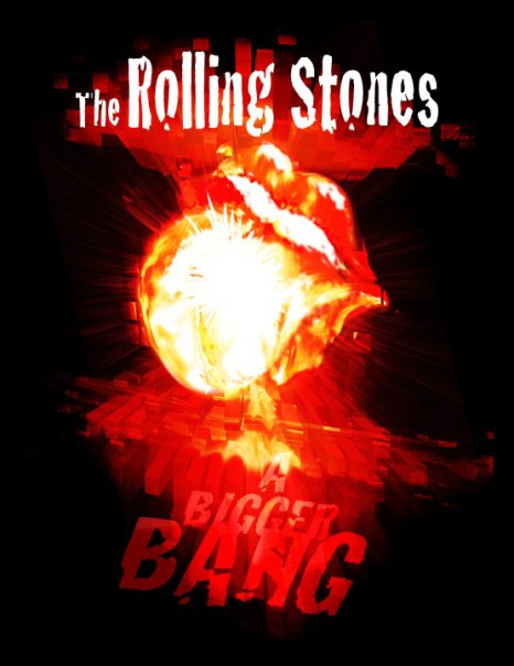 nuclear explosion bomb tongue lips rolling stones
